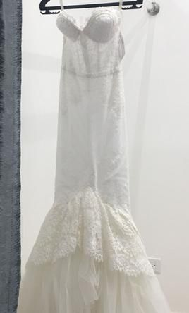 Inbal Dror wedding dress currently for sale at 13�0off retail.