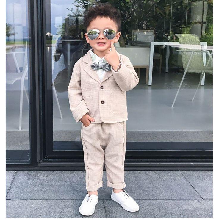 男の子 スーツ 子供服 フォーマル キッズ 卒園式 スーツ 入園式 フォーマル 子供 スーツ 赤ちゃん フォーマル 結婚式 男の子 韓国子供服|sweetmoco|01