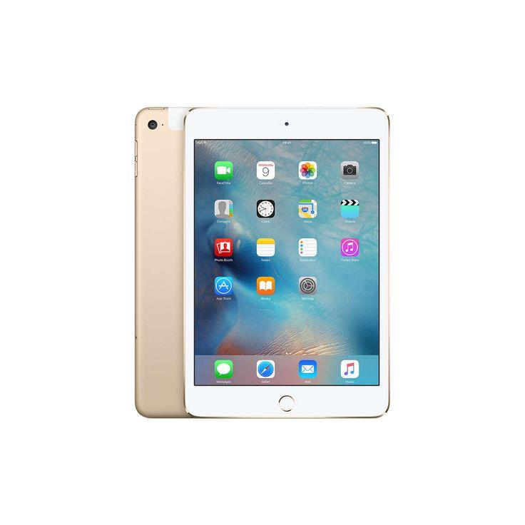 "BuyApple iPad mini 4, Apple A8, iOS, 7.9"", Wi-Fi & Cellular, 128GB, Gold Online at johnlewis.com"