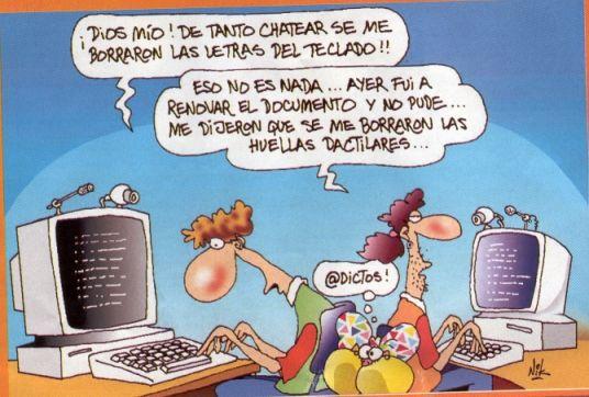 Punto de vista de los alumnos: Riesgos en el abuso de tecnología