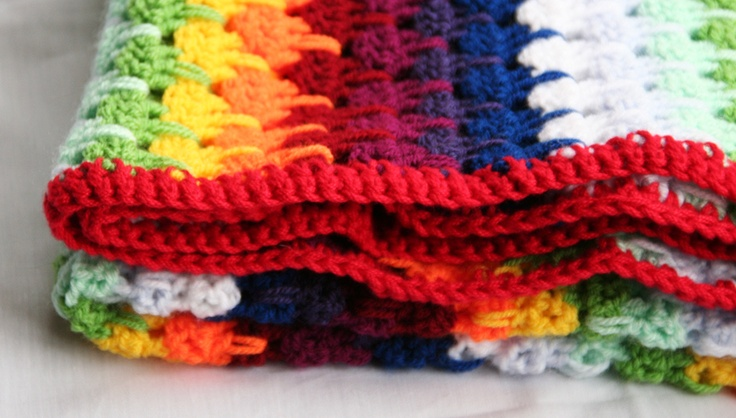 baby dekentje, #haken, gratis patroon, uitleg, #crochet, baby blanket, free pattern and tutorial (Dutch)