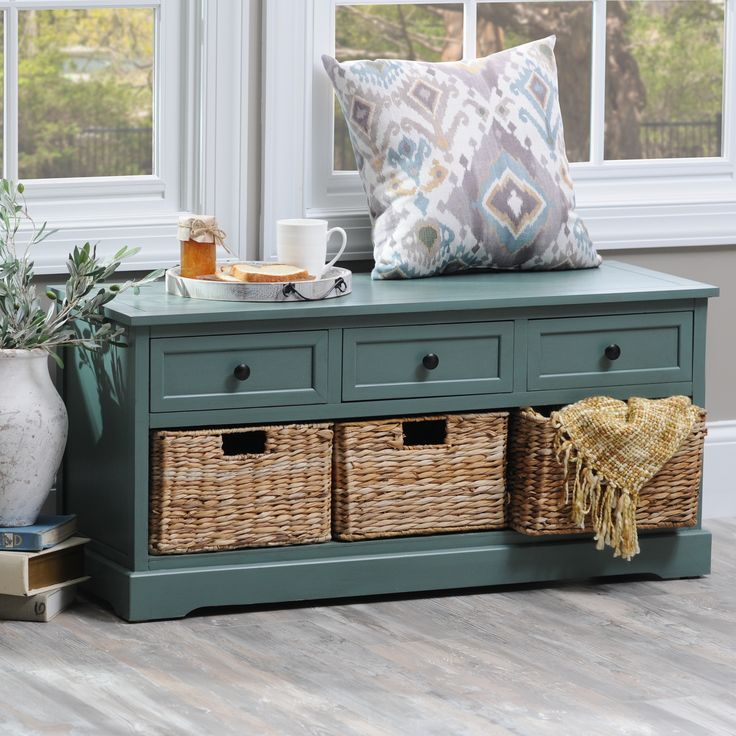 Give your home storage a pop of color and a tidbit of texture with one of our favorites-- the '6-Drawer Storage Bench with Baskets!' Shop this must have at its Semi Annual Sale price through 1/29 and de-clutter in the new year.