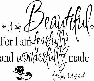 Psalm 139:14- my life verse