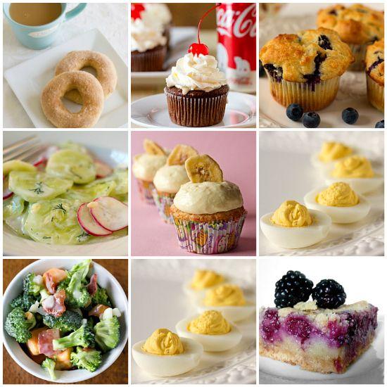 95 Favorite Spring Recipes by Brown Eyed Baker