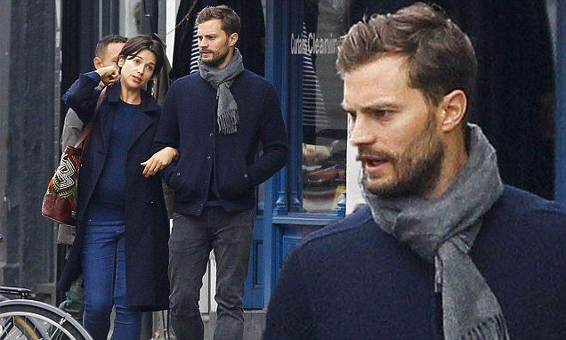 Jamie Dornan Cuts A Casual Figure As He Steps Out With
