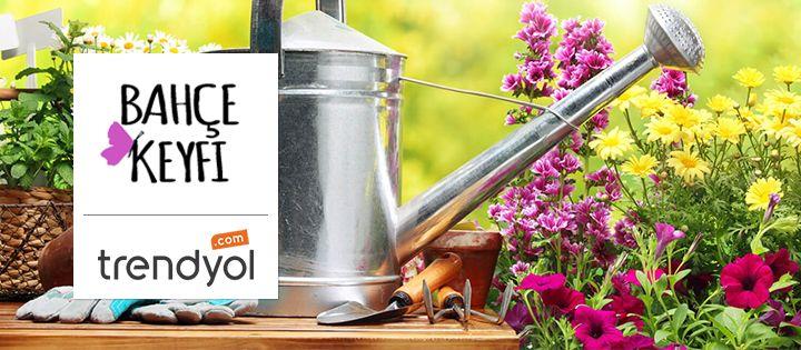 """Bahçelere tarz katacak ürünlerimiz Trendyol'un """"Bahçe Keyfi"""" butiğinde sizi bekliyor!  Alışverişe Başla: bit.ly/Trendyol_Bahce"""