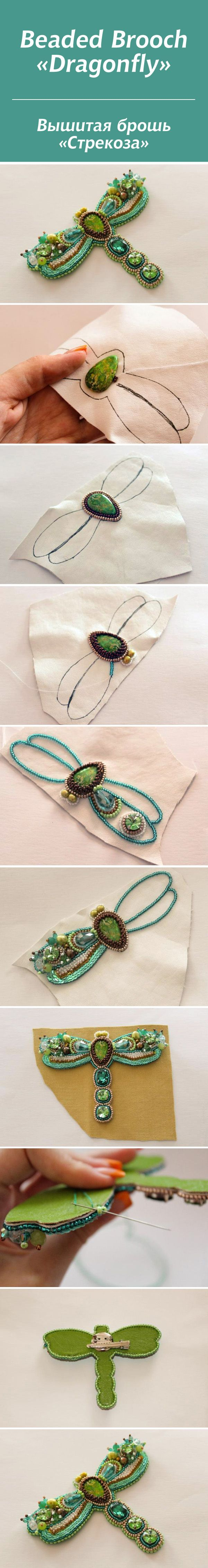#bead #tutorial - Love seeing the visual, need to do more planned bead embroidery.