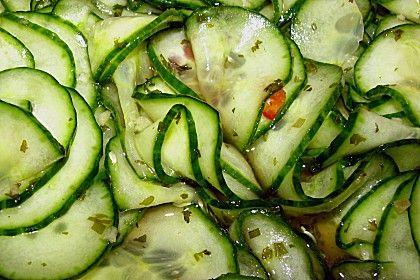 Dänischer Gurkensalat 9