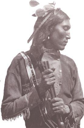 belle photo d'un représentant de la tribu cheyenne