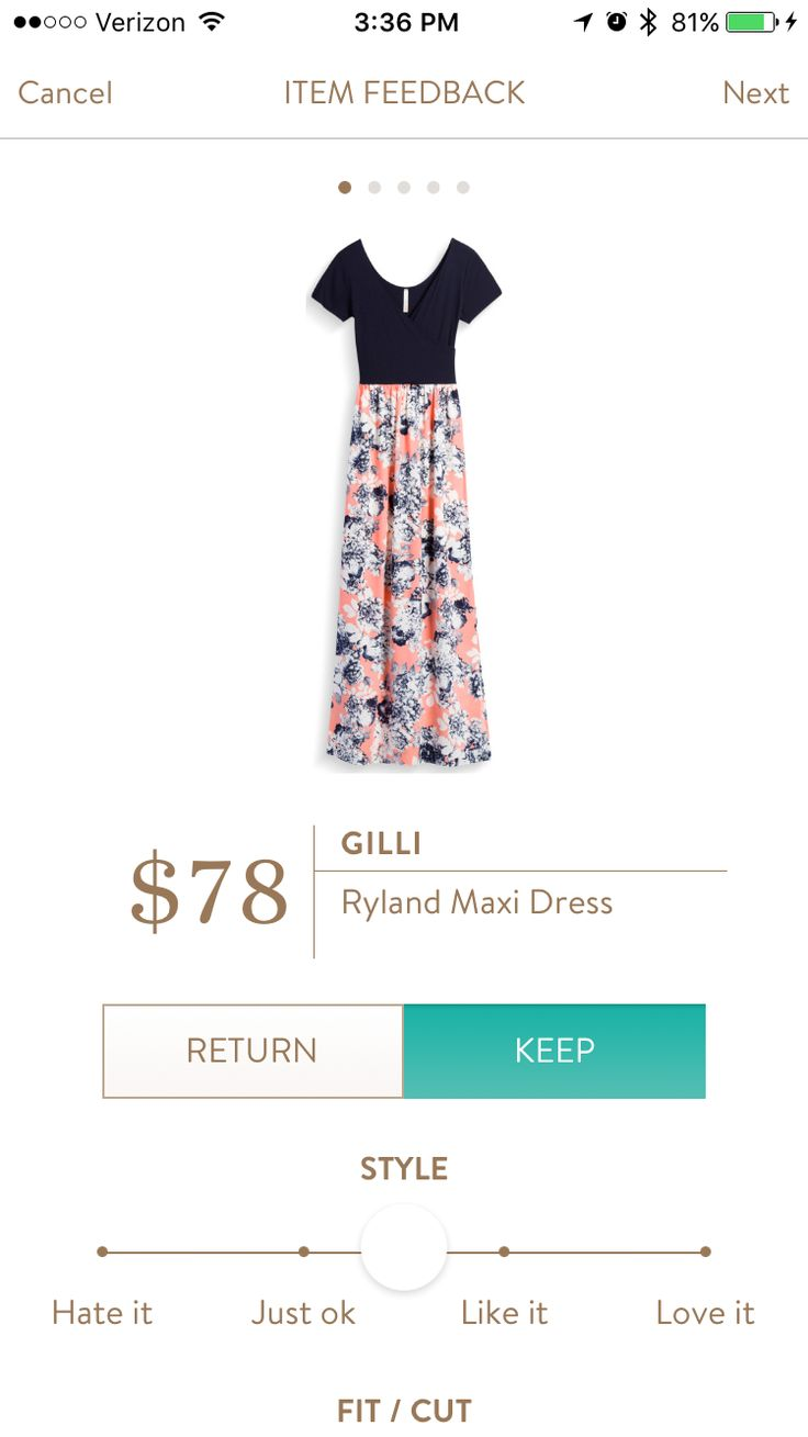 Gilli ryland maxi dress. I love Stitch Fix! A personalized styling service and it's amazing!! Simply fill out a style profile with sizing and preferences. Then your very own stylist selects 5 pieces to send to you to try out at home. Keep what you love and return what you don't. Only a $20 fee which is also applied to anything you keep. Plus, if you keep all 5 pieces you get 25% off! Free shipping both ways. Schedule your first fix using the link below! #stitchfix @stitchfix. Stitchfix…