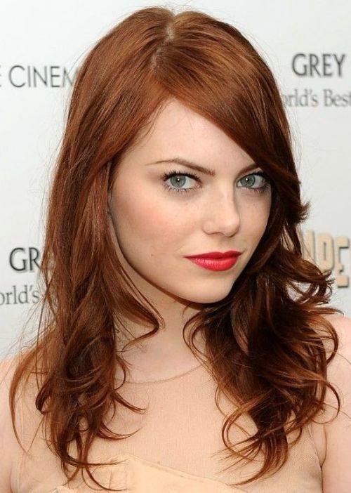 Medium Auburn Hair Color Pictures