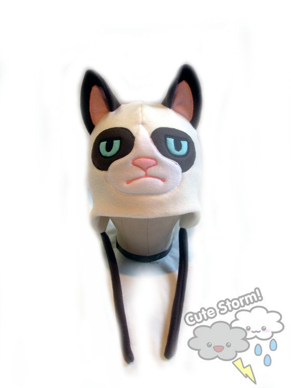 The Grumpy Cat hat.  Perfect for that downer friend of yours.