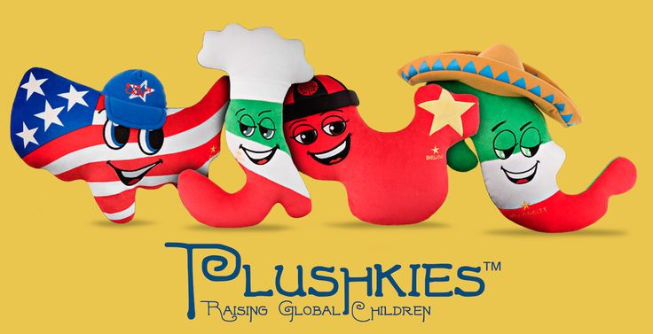 "The Global Children's Brand Unveils 7 New Countries  Plushkies LLC, the Austin (Texas) based travel and educational company who introduced plush toys in the shape of countries to ""Raise Global Children"", has announced today the release of 7 new designs for 7 new countries. The company's manufacturer is already informed and is ready to start production of the new designs as soon they finalize deciding on the right strategic distribution partners."