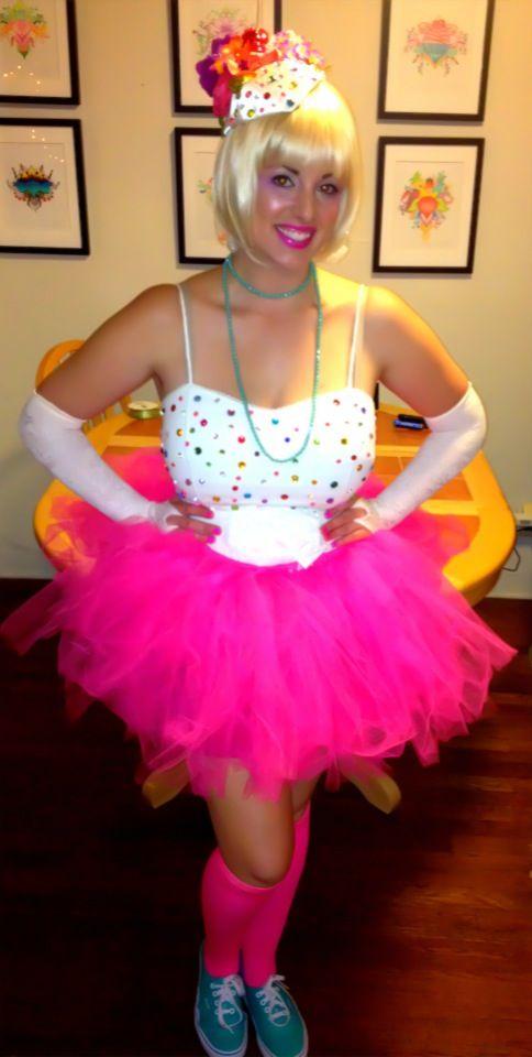DIY Original Halloween costume - Confetti Cupcake! By J.Fricano
