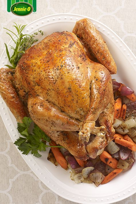 Turkey tip! Cook your turkey upside down to keep all the natural moisture in!