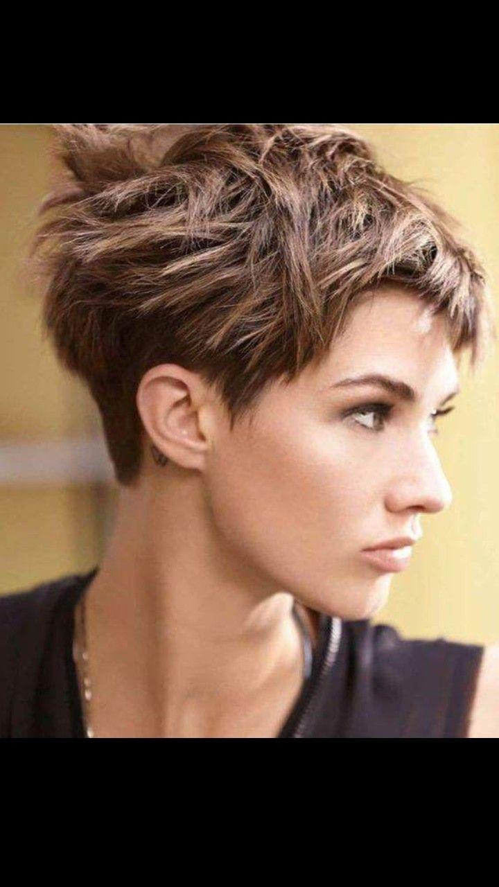 Moderne Kurze Frisuren Für Dunkle Haare
