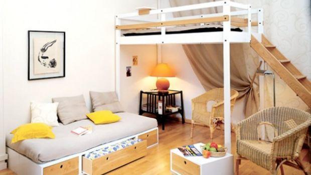 Camerette per ragazzi e bambini, idee per arredare in poco spazio