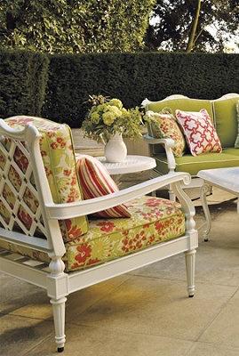 Secret Garden Furniture Sets. I Love Outdoor Furniture That Looks Like  Indoor Furniture