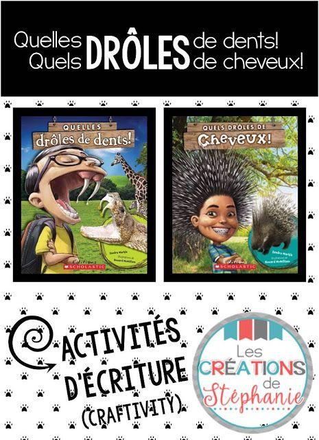 Les créations de Stéphanie : Et si tu étais un animal? Gratuité tirée des albums Quelles drôles de dents! et Quels drôles de cheveux!