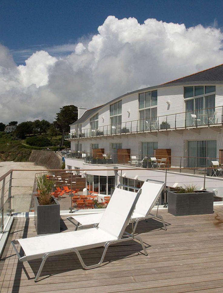 Galerie photos de l'hôtel de charme à Concarneau | Hôtel 4 étoiles les Sables Blancs