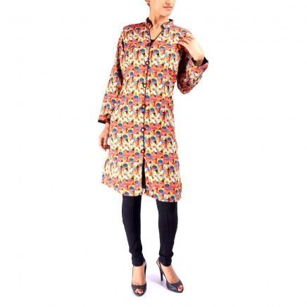 digitaly printed kurta