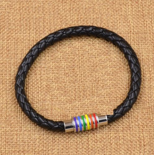 Gay Pride LGBT Love Magnetic Buckle Bracelet