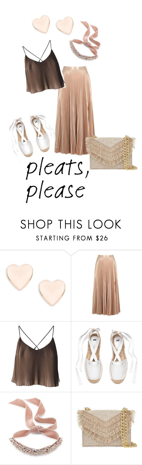 """""""pleats please"""" by beemdh on Polyvore featuring moda, Ted Baker, A.L.C., Fallon y Cynthia Rowley"""