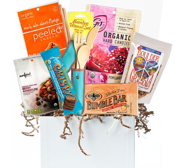 The 25 best gluten free gift baskets ideas on pinterest gluten fabulous gluten free organic gift baskets peeled snacks amys kitchen sunfood negle Images