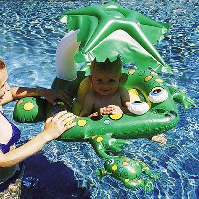 Frog Infant Pool Raft for $19.50 #InfantPoolFloats #PoolBeach