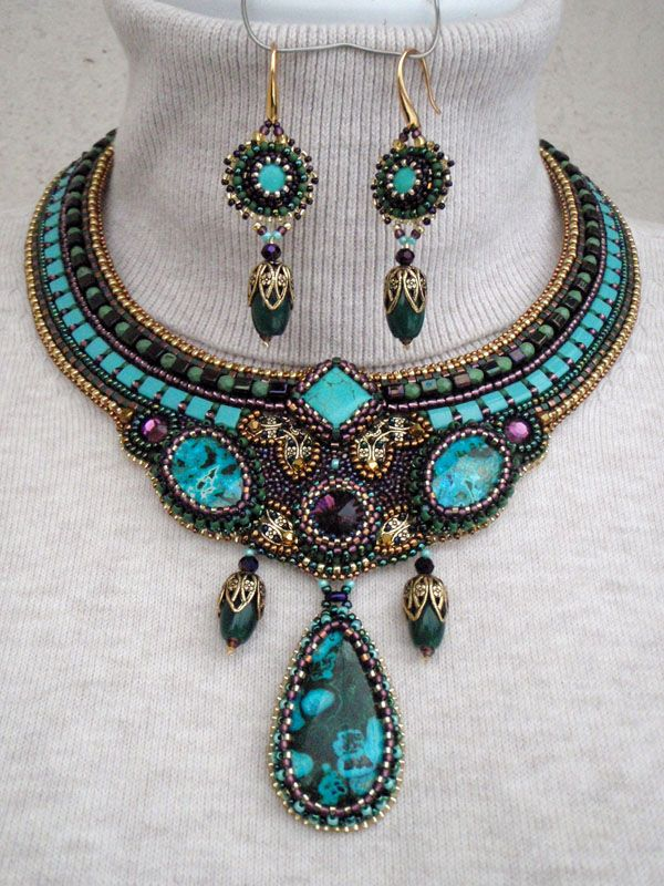 """""""The Love for Three chrysocolla."""" by Inga"""