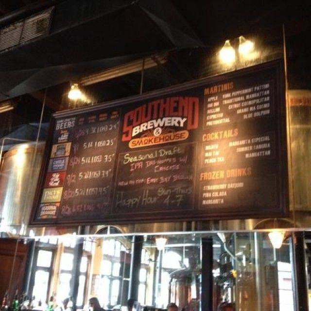 Southend Brewery & Smokehouse in Charleston, SC