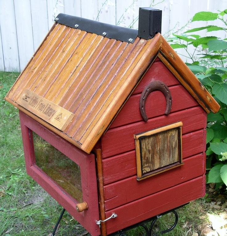 320 best Examples of Little Free Libraries images on Pinterest - free bol