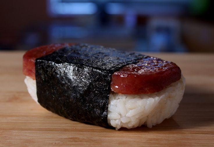 The 99 Cent Chef: Teriyaki Spam Musubi - Video Recipe