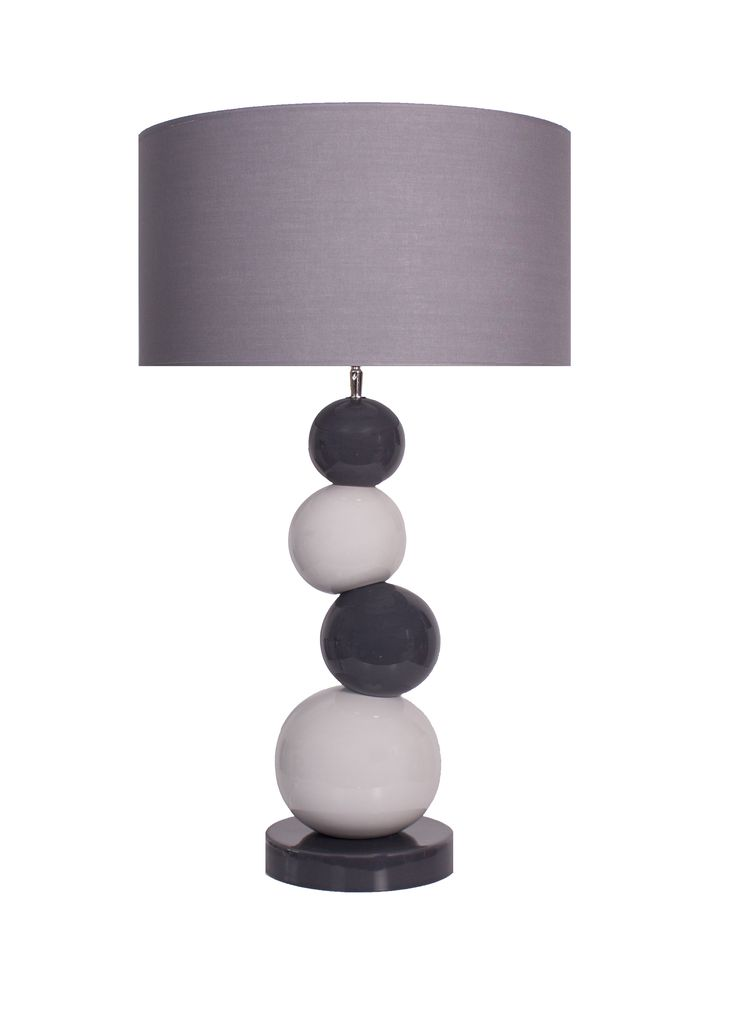 lampe boulier gris