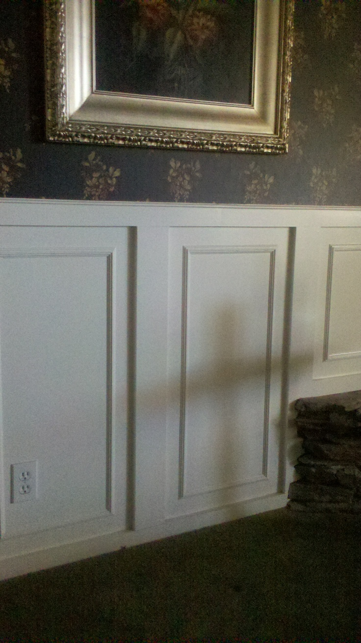 wainscoting wallpaper