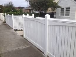 Image result for capped picket fence
