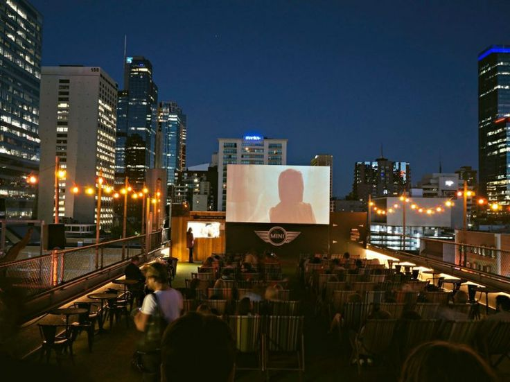 the Rooftop Cinema in Melbourne