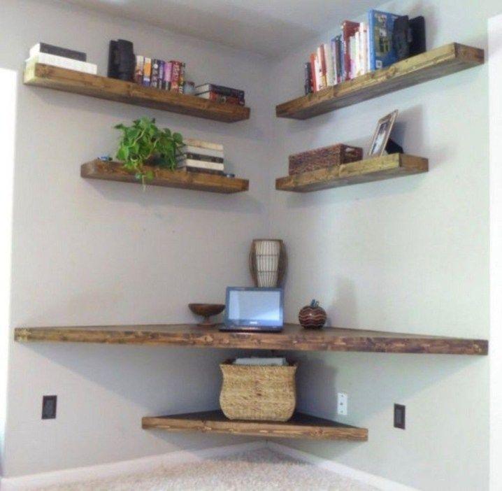 Amazing Diy Floating Wall Corner Shelves Ideas01 ...