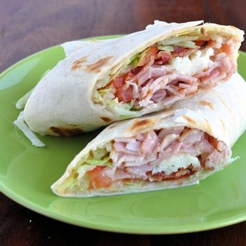 The Ultimate Turkey Bacon Club Sandwich Wrap Recipe