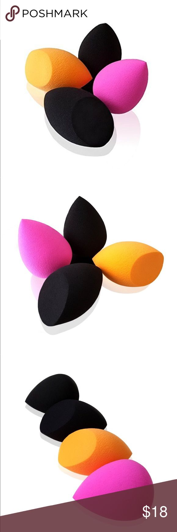 Pro Beauty Sponge Makeup Blender 4 pieces NEW Pro Beauty Sponge Makeup Blender - For Original Liquid Foundation, Concealer, Cream, Powder, Blush - Soft Latex Free Vegan Sponges - Blending, Highlighting, Contouring - Flawless Coverage 4 Piece              BEAUTY BLENDER SPONGE SET Lamora´s vegan-friendly, cruelty free, and SOFT makeup sponges are finally here to score a flawless blend. Never again will you miss a spot or have an uneven jawline. With these beauty sponges providing…