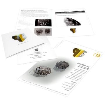 ISPIRAZIONI GRAFICHE: Brochure aziendale e pubblicità su rivista. Restyling immagine aziendale e creazione nuova comunicazione visiva per brochure e pubblicità su magazine.