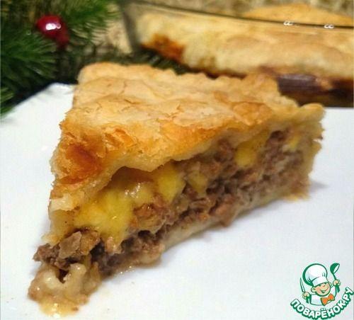 "Пирог ""Чизбургер"" - кулинарный рецепт"