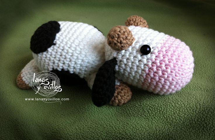 Amigurumi Pattern Little Cows : 17 migliori immagini su amigurumi farm animals su ...