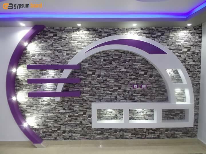 احدث مكتبات جبس بورد 2019 Ceiling Design House Styles Design