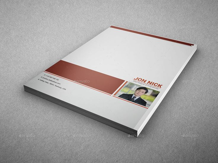 Resume Bundle Template Volume 1 Templates, Cover