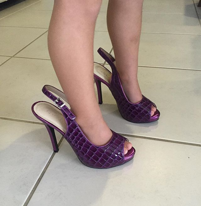 Not quite old enough yet for mummy's heels. #scarlettos #shoeaddict #australiandesigner #emergingdesigner #beautiful