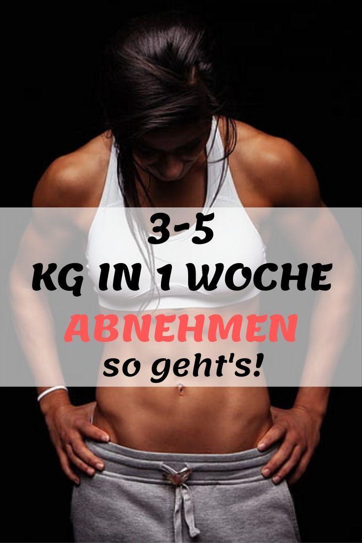 Diät, um 7 Kilo in einer Woche zu verlieren