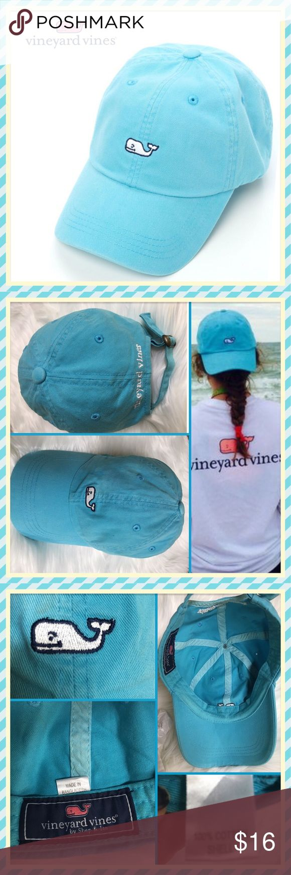 🆕VINEYARD VINES Blue baseball cap/Unisex VINEYARD VINES Blue baseball cap/Unisex. OSFA Details in photos First photo is stock & all the rest are actual cap for sale that I shot myself. EUC Vineyard Vines Accessories Hats