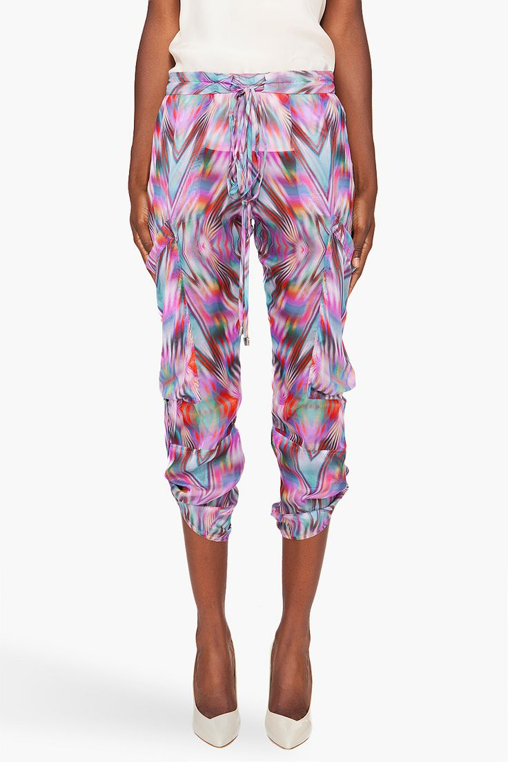 Ikat Harem Pants by Matthew Williamson