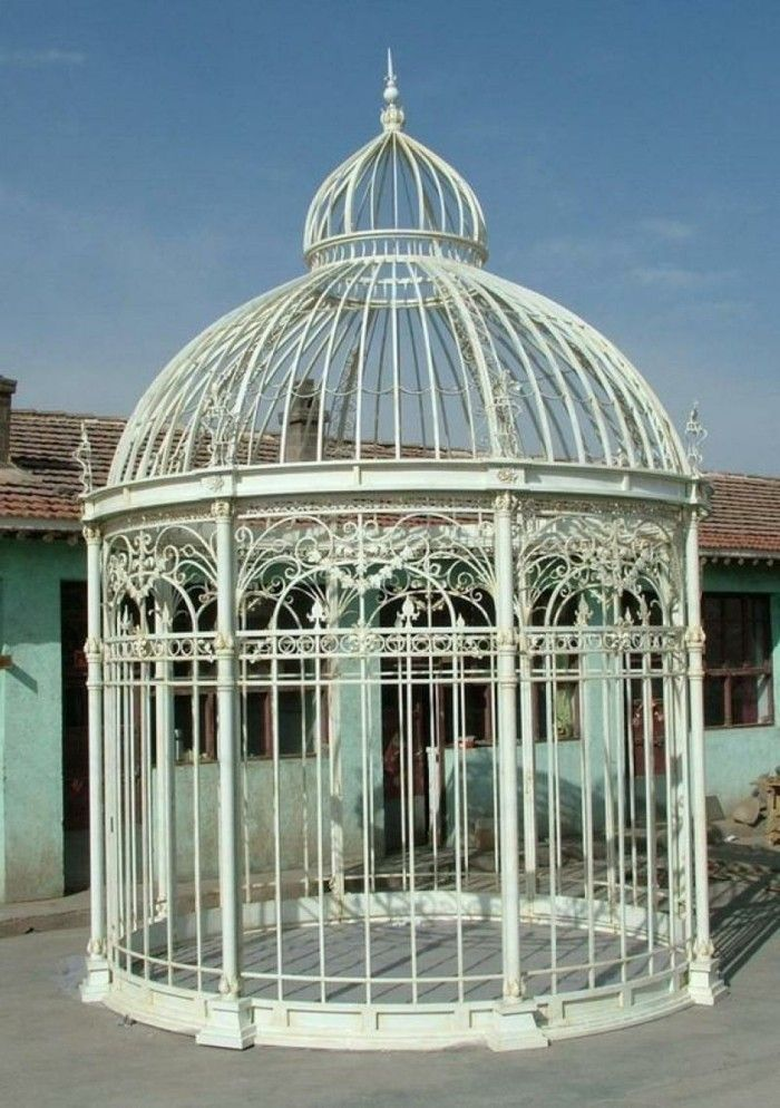17 best pergola moderne images on pinterest pergolas - Pergola fer forge ...